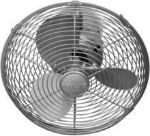 Matthews Fan Company KC-BN - Kaye-Brushed Nickel Wall Fan