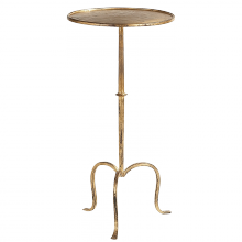 Visual Comfort SF 210GI - Hand-Forged Martini Table in Gilded Iron