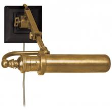Visual Comfort TOB 2000HAB - Academy Map Light in Hand-Rubbed Antique Brass