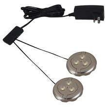 Sea Gull 98862SW-986 - 2 Light LED Disk Kit 3000K