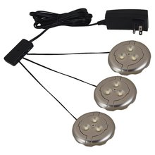 Sea Gull 98863SW-986 - 3 Light LED Disk Kit 3000K