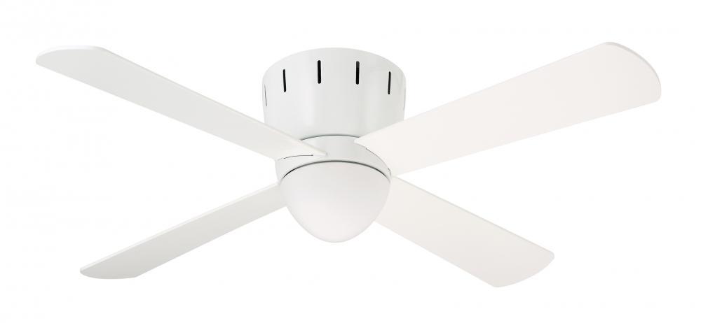 One light appliance white ceiling fan 7uuh living lighting ottawa one light appliance white ceiling fan aloadofball Gallery