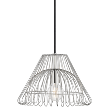 Hudson Valley H180701S-PN - 1 Light Small Pendant