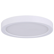 "Canarm LED-SM7DL-WT-C - LED Disk, LED-SM7DL-WT-C, 7"" White Color Trim, 15W Dimmable, 3000K, 850 Lumen, Surface Mounted,"