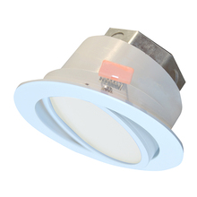 "Canarm LED-SW4P-WT-C - LED Recess Downlight, LED-SW4P-WT-C, 4"" White Color Gimbal Trim, 10W Dimmable, 3000K, 580 Lumen,"