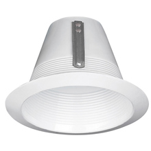 "Canarm T5LBWH - Recessed, 5"" Cone Baffle Trim for Non-IC or IC, WH, 75W PAR30L or 65W BR30"