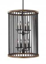 Feiss F3117/8WRI/TWO - 8 - Light Foyer Lantern